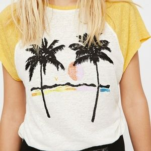 We the free palm tree shirt